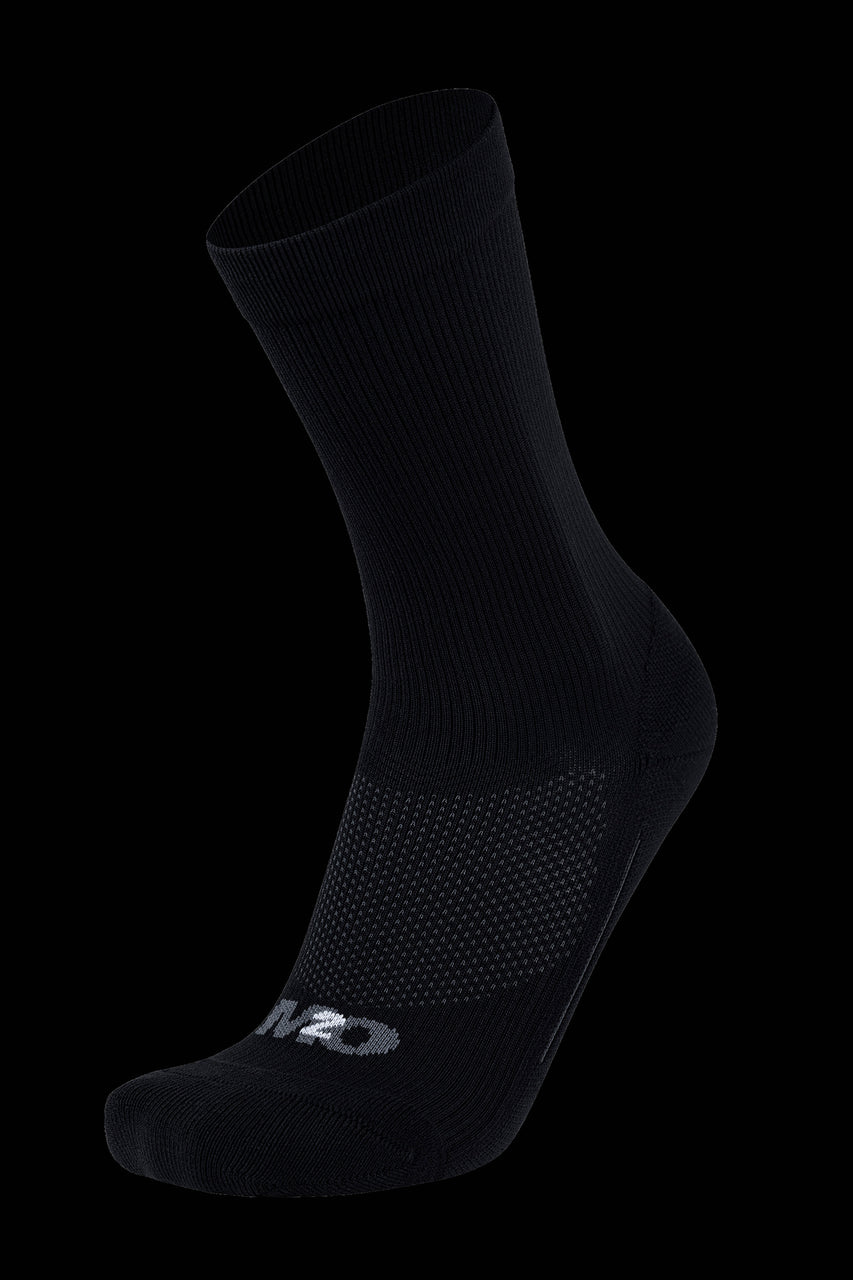M2O Everyday Crew Compression Sock - Black - M2O Industries