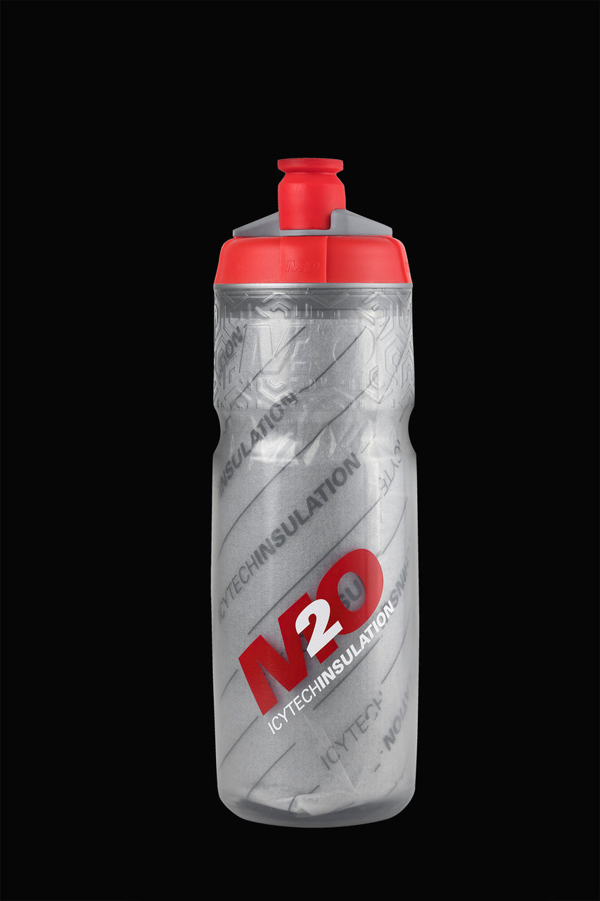 M2O Pilot Insulated, 620ml, Smoke/Red - M2O Industries