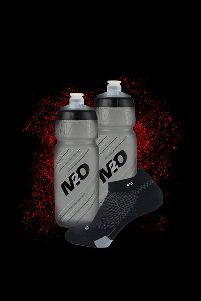 M2O Pilot 710ml Bottle + Ankle Sock Combo Offer - M2O Industries