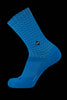 M2O Diamond Crew Plus Sock Blue Inc Reflective Strip - M2O Industries