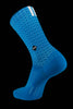 M2O Active Range Crew Plus Socks - Blue - M2O Industries