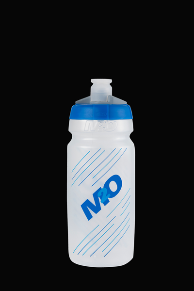 M2O Pilot Water Bottle, 620ml, Clear/Blue - M2O Industries