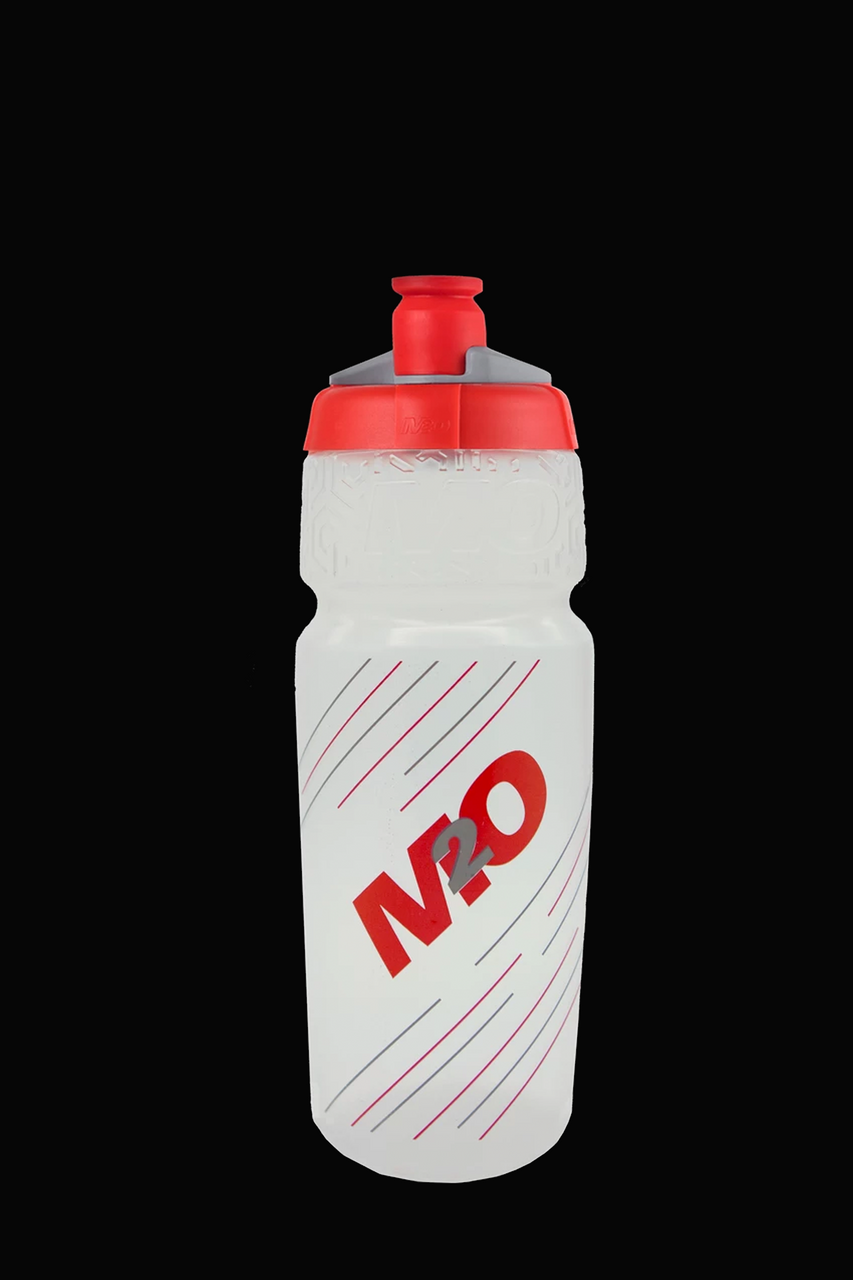 M2O Pilot Water Bottle, 710ml, Clear/Red - M2O Industries