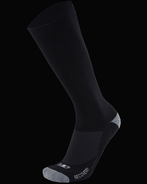 M2O Recovery Compression Sock - Black/Grey - M2O Industries