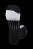 M2O Run Fast Crew Plus Compression Sock - Black/White - M2O Industries