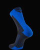 M2O Shield 3/4 Cycling And Sports Compression Sock -  Black/Blue - M2O Industries