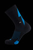 M2O Active Range Strike Crew Plus Sock - Blue - M2O Industries