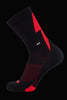 M2O Active Range Strike Crew Plus Sock - Red - M2O Industries