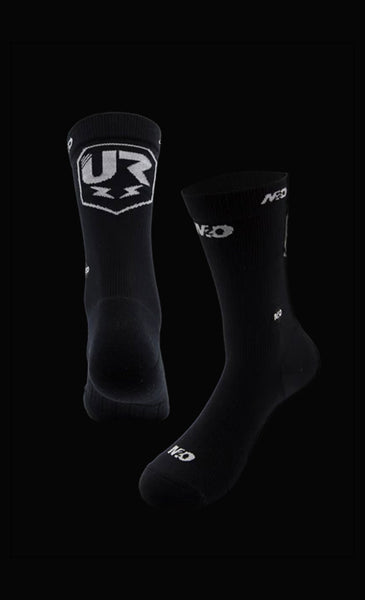 M2O UR Team Crew Plus Sock Black - M2O Industries