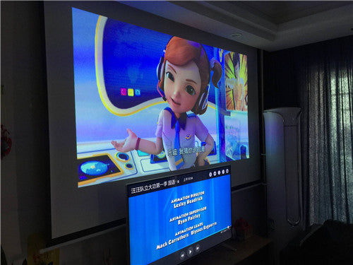 Installation Method of Projector for Home Cinema