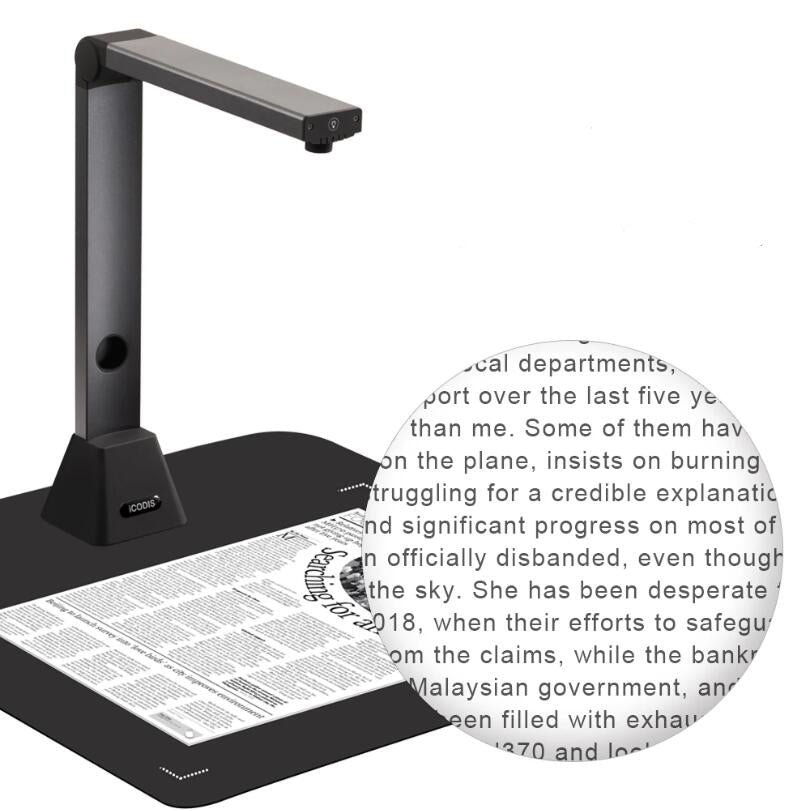 OCR A3 MULTI PAGE PDF DOCUMENT CAMERA SCANNER 2