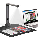 MegaScan Pro X3 | OCR A3 Multi Page PDF Document Camera Scanner