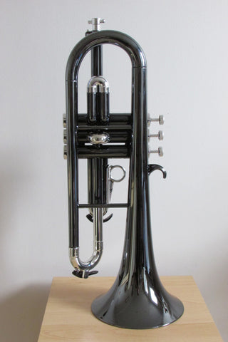 Tromba Plastic Flugelhorn Nickel and Silver