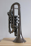 Tromba Plastic Bb Cornet Nickel and Silver