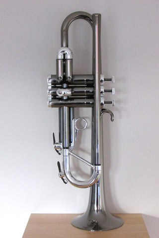 Tromba Plastic Bb Trumpet Nickel and Silver