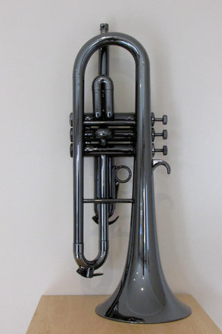 Tromba Plastic Bb Flugelhorn - Black Nickel