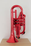 Tromba Plastic Cornet Metallic Red