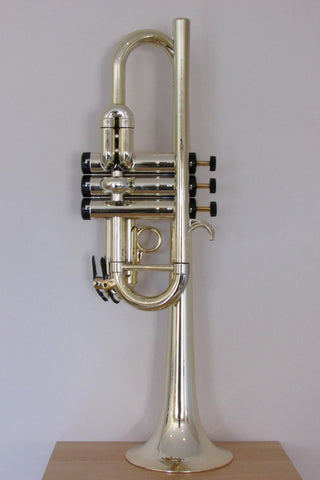 Tromba Plastic C Trumpet Gold and Black