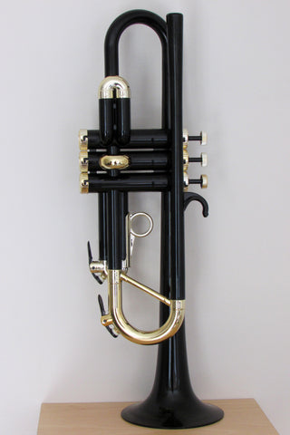 Tromba Plastic Trumpet Black and Gold
