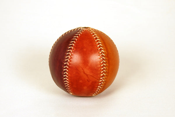 Rainbow leather bouncing ball.
