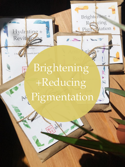 Brightening + Reducing Pigmentation Sheet Mask Starter Set