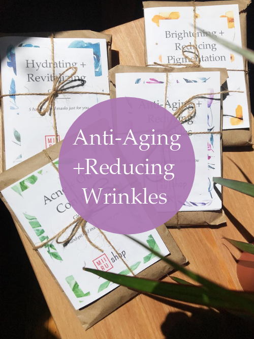Anti-Aging + Reducing Wrinkles Sheet Mask Starter Set