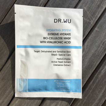 Dr Wu Extreme Hydrate Bio-Cellulose Mask With Hyaluronic Acid