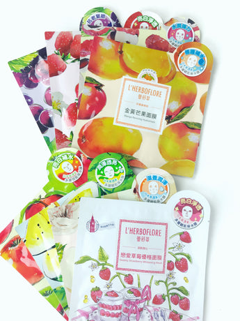 L'Herboflore Fresh-Picked Fruit Glow Kit