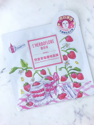 Sweetie Strawberry Whitening Mask