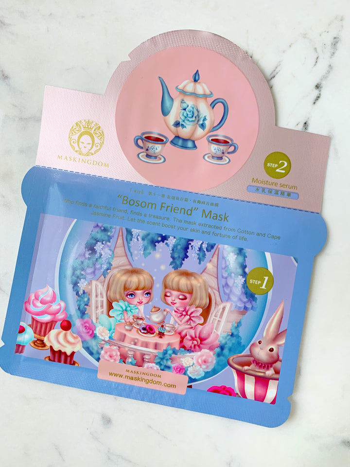 maskingdom bosom friend i wish maskingdom 2 step sheet mask