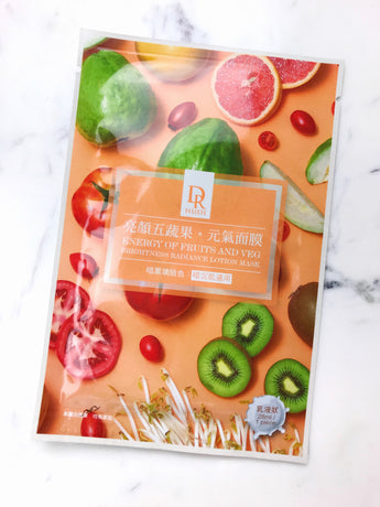 Energy of Fruits and Veg Brightness Radiance Lotion Mask