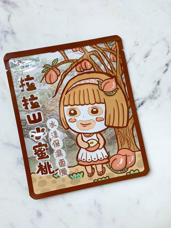 Lala Shan Peach Aqua Hydrating Facial Mask
