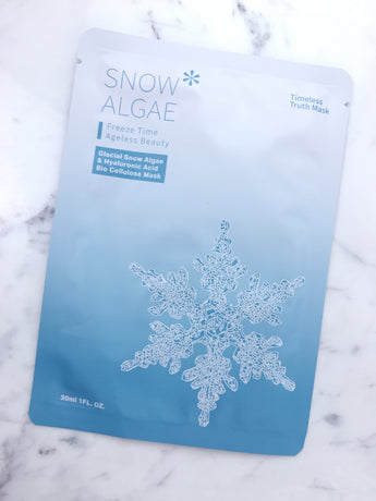 Snow Algae & Hyaluronic Acid Bio-Cellulose Mask