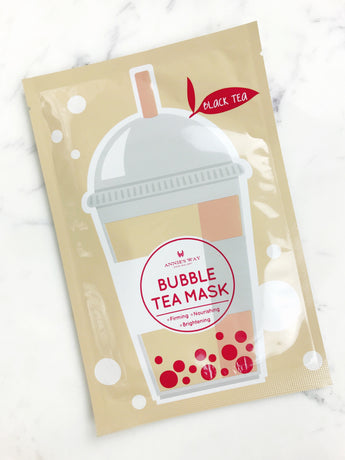 Black Tea Bubble Tea Firming, Nourishing, and Brightening Mask