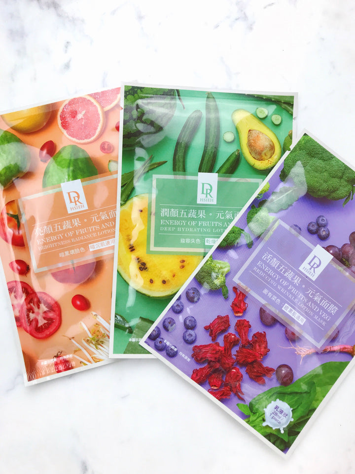 Dr. Hsieh Energy of Fruits and Veg Variety Set