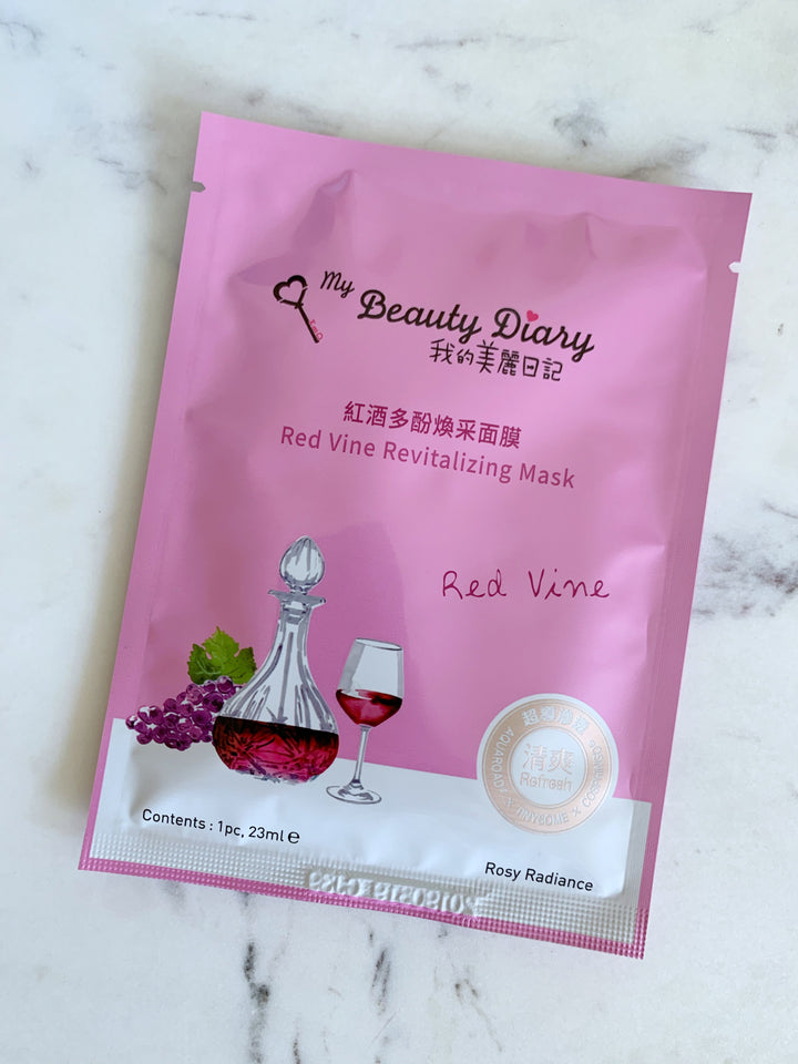 Red Vine Revitalizing Mask my beauty diary
