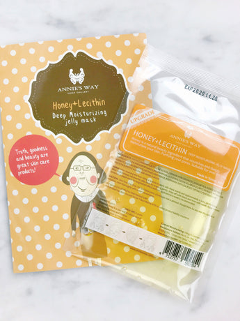 Honey + Lecithin Deep Moisturizing Jelly Mask