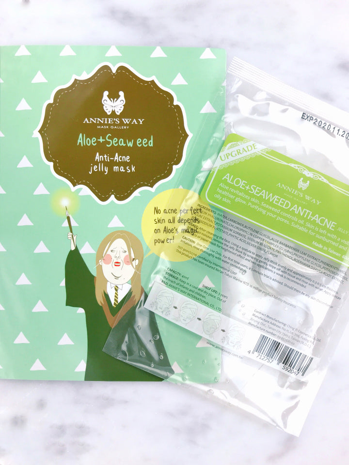 Aloe + Seaweed Anti-Acne Jelly Mask