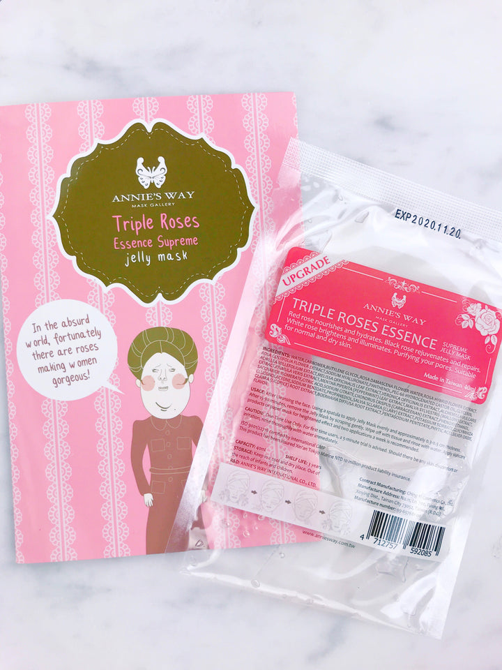 Triple Roses Essence Supreme Jelly Mask