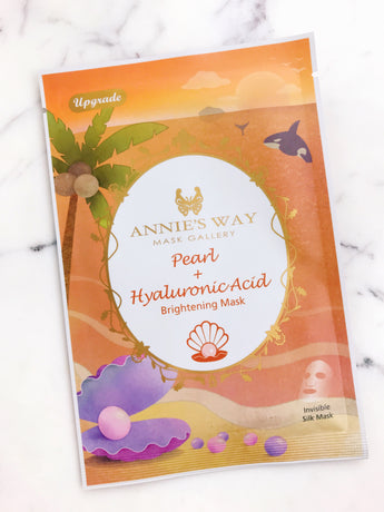 Pearl + Hyaluronic Acid Brightening Mask