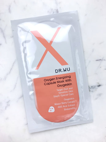 Oxygen Energizing Capsule Mask With Oxygeskin