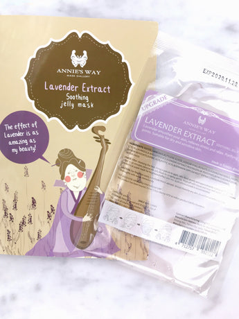 Lavender Extract Soothing Jelly Mask