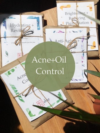 Acne + Oil Control Sheet Mask Glow Kit