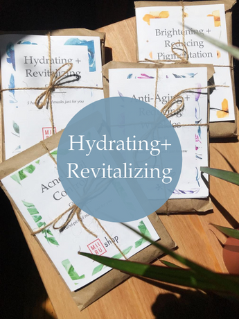 Hydrating + Revitalizing Sheet Mask Starter Set