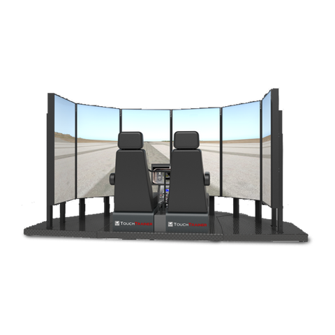 TOUCHTRAINER FM 210 HELICOPTER BATD SIMULATOR