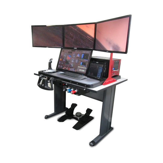 FlyThisSim TouchTrainer VX - Affordable FAA Approved Entry Level BATD Flight Simulator