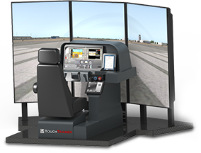 TOUCHTRAINER FM 100 SINGLE SEAT FAA APPROVED SIMULATOR