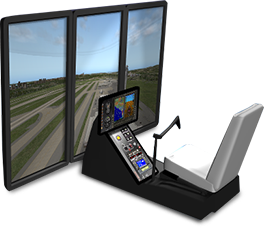 TOUCHTRAINER FM 100 HELICOPTER BATD SIMULATOR