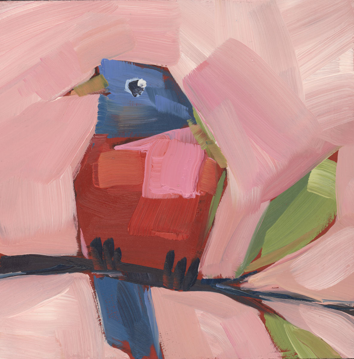 1391: Painted Bunting