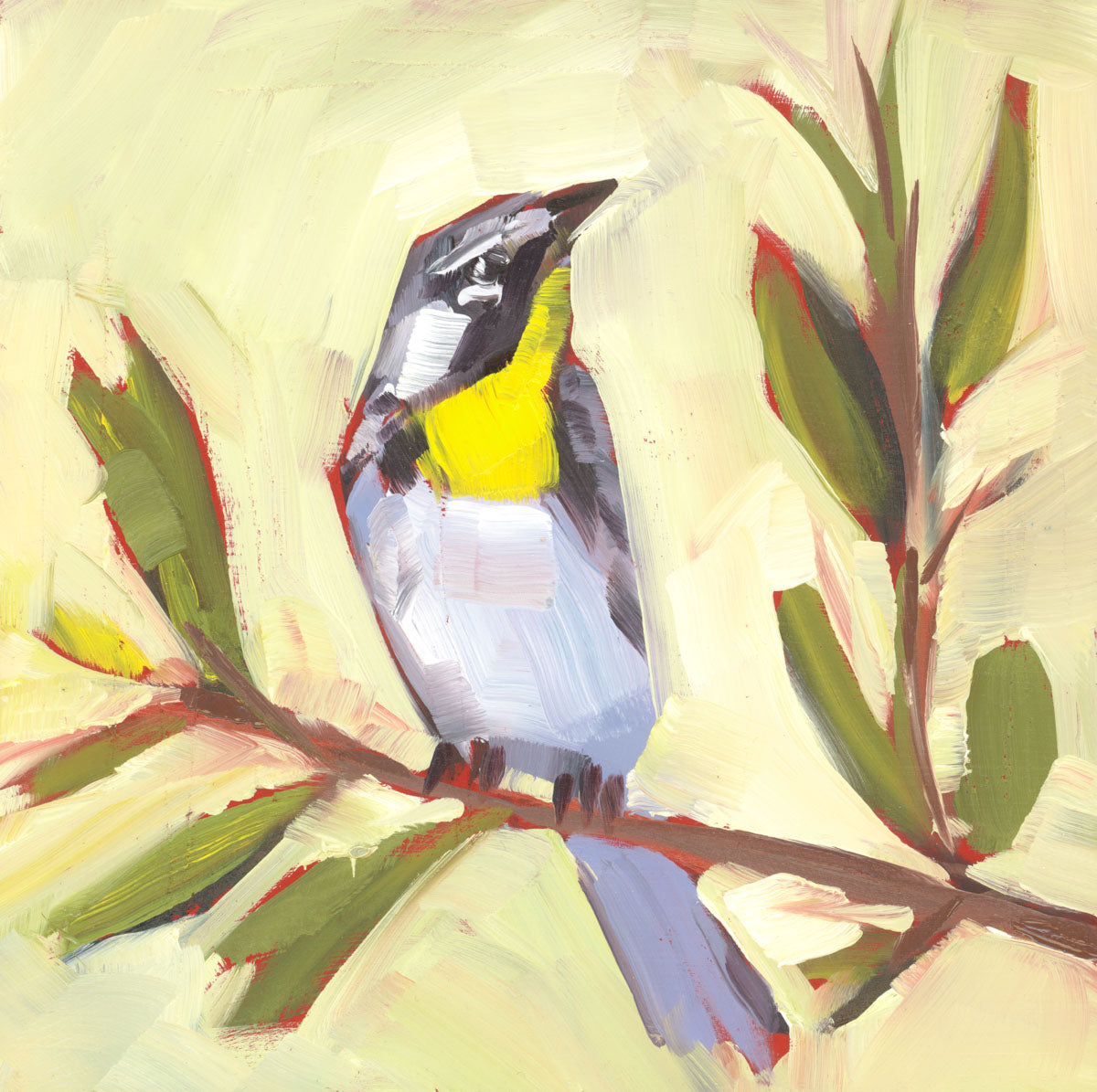 1395: Yellow-Throated Warbler